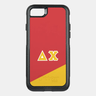 Delta Chi | Greek Letters OtterBox Commuter iPhone 8/7 Case