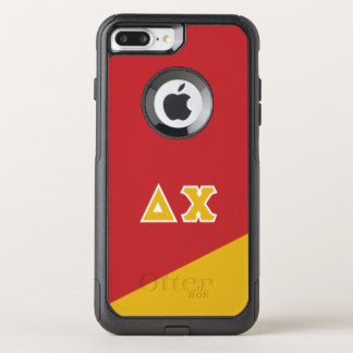 Delta Chi | Greek Letters OtterBox Commuter iPhone 8 Plus/7 Plus Case