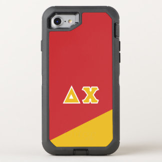 Delta Chi | Greek Letters OtterBox Defender iPhone 8/7 Case