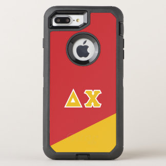 Delta Chi | Greek Letters OtterBox Defender iPhone 8 Plus/7 Plus Case