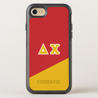 Delta Chi | Greek Letters OtterBox Symmetry iPhone 8/7 Case