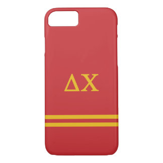 Delta Chi | Sport Stripe iPhone 8/7 Case