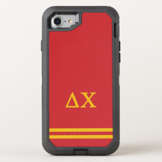 Delta Chi | Sport Stripe OtterBox Defender iPhone 8/7 Case