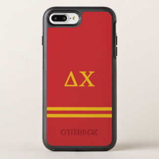 Delta Chi | Sport Stripe OtterBox Symmetry iPhone 8 Plus/7 Plus Case