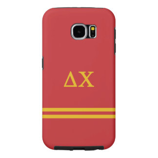 Delta Chi | Sport Stripe Samsung Galaxy S6 Cases