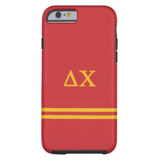 Delta Chi   Sport Stripe Tough iPhone 6 Case