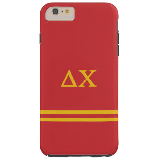 Delta Chi | Sport Stripe Tough iPhone 6 Plus Case