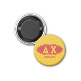 Delta Chi | Vintage 1 Inch Round Magnet