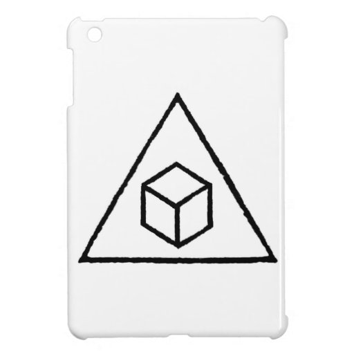 Delta Cubes Cover For The iPad Mini