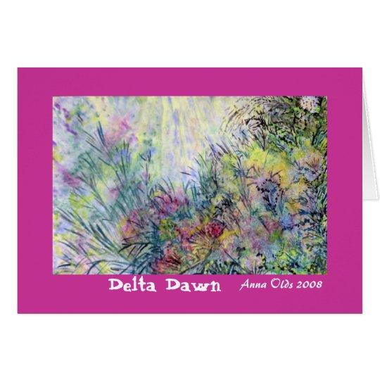 Delta Dawn Card