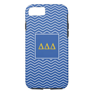 Delta Delta Delta | Chevron Pattern iPhone 8/7 Case