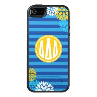 Delta Delta Delta | Monogram Stripe Pattern OtterBox iPhone 5/5s/SE Case