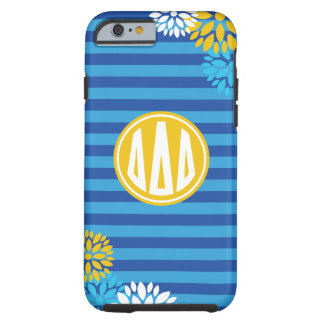 Delta Delta Delta | Monogram Stripe Pattern Tough iPhone 6 Case