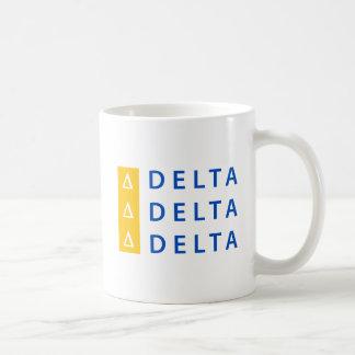Delta Delta Delta | Stacked Coffee Mug