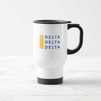 Delta Delta Delta | Stacked Travel Mug
