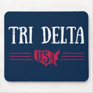 Delta Delta Delta | USA Mouse Pad