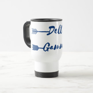 Delta Gamma | Arrow Travel Mug