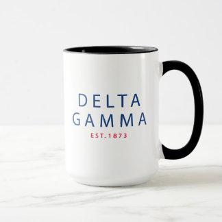Delta Gamma   Est. 1873 Mug