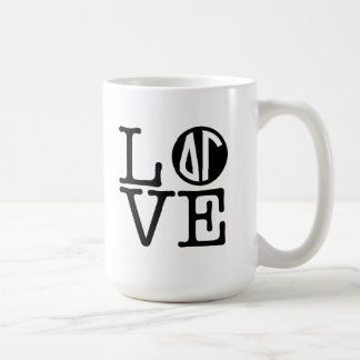 Delta Gamma | Love Coffee Mug
