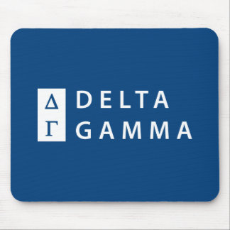 Delta Gamma | Stacked Logo Mouse Pad