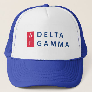 Delta Gamma | Stacked Logo Trucker Hat