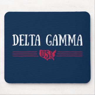 Delta Gamma | USA Mouse Pad