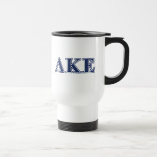 Delta Kappa Epsilon Blue Letters Travel Mug