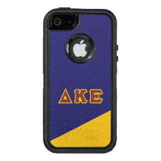 Delta Kappa Epsilon   Greek Letters.ai OtterBox iPhone 5/5s/SE Case