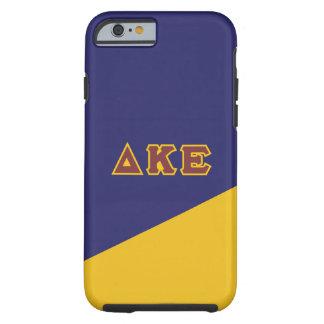 Delta Kappa Epsilon   Greek Letters.ai Tough iPhone 6 Case