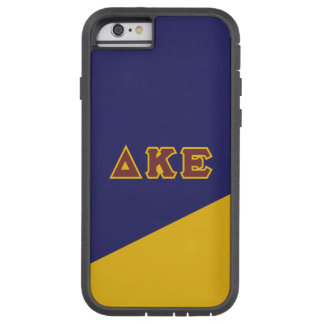 Delta Kappa Epsilon | Greek Letters.ai Tough Xtreme iPhone 6 Case