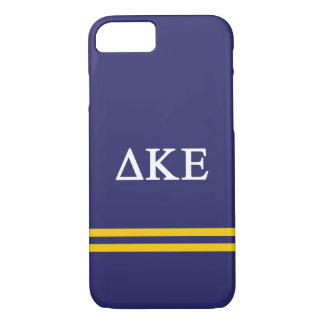 Delta Kappa Epsilon | Sport Stripe.ai iPhone 8/7 Case