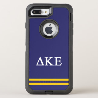 Delta Kappa Epsilon | Sport Stripe.ai OtterBox Defender iPhone 8 Plus/7 Plus Case