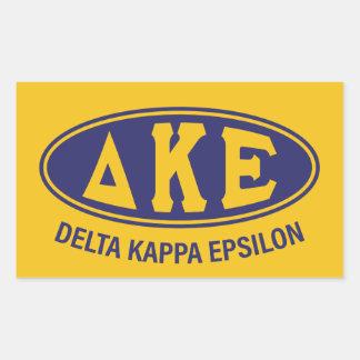 Delta Kappa Epsilon | Vintage Sticker