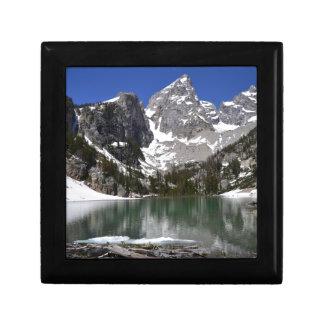 Delta Lake Grand Teton National Park Gift Box