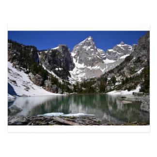 Delta Lake Grand Teton National Park Postcard