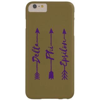 Delta Phi Epsilon Arrow Barely There iPhone 6 Plus Case