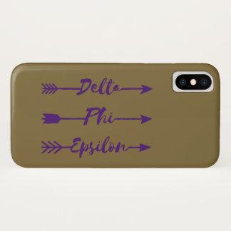 Delta Phi Epsilon Arrow Case-Mate iPhone Case