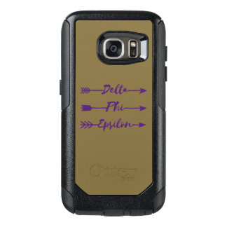 Delta Phi Epsilon Arrow OtterBox Samsung Galaxy S7 Case