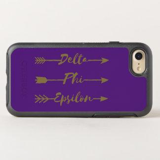 Delta Phi Epsilon Arrow OtterBox Symmetry iPhone 8/7 Case