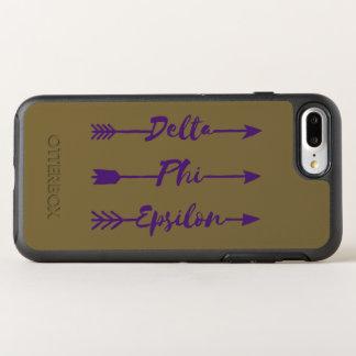 Delta Phi Epsilon Arrow OtterBox Symmetry iPhone 8 Plus/7 Plus Case