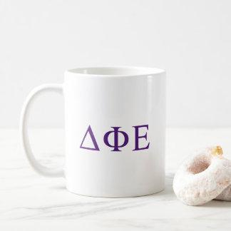 Delta Phi Epsilon Big Script Coffee Mug