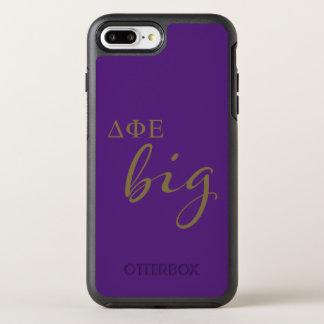 Delta Phi Epsilon Big Script OtterBox Symmetry iPhone 8 Plus/7 Plus Case