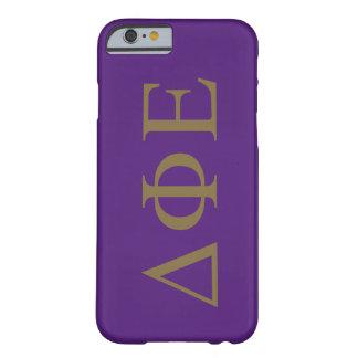 Delta Phi Epsilon Lil Big Logo Barely There iPhone 6 Case