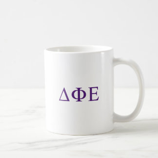 Delta Phi Epsilon Lil Big Logo Coffee Mug