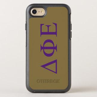 Delta Phi Epsilon Lil Big Logo OtterBox Symmetry iPhone 8/7 Case
