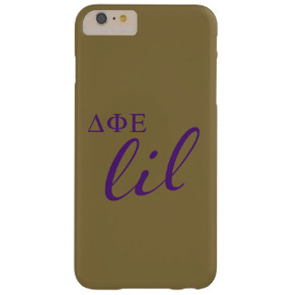 Delta Phi Epsilon Lil Script Barely There iPhone 6 Plus Case