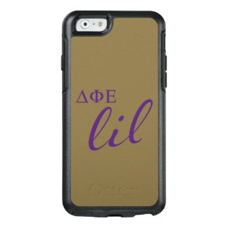 Delta Phi Epsilon Lil Script OtterBox iPhone 6/6s Case