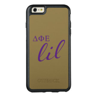 Delta Phi Epsilon Lil Script OtterBox iPhone 6/6s Plus Case