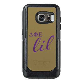 Delta Phi Epsilon Lil Script OtterBox Samsung Galaxy S7 Case