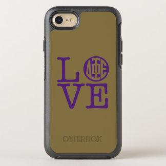 Delta Phi Epsilon Love OtterBox Symmetry iPhone 8/7 Case